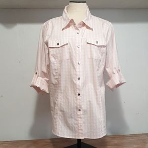 Christopher &Banks women's blouse  size Large
